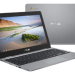 ASUS Chromebook C223はAppleのアレを一回り小さくしたラップトップ!クラムシェルにも対応