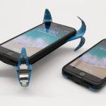 『モバイルエアバッグ』はスマートフォンを落下から完全に守るトランスフォームケース!
