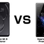 Xiaomi Mi 8 ExplorerとSONY Xperia XZ 2 Premium 超最強のフラッグシップ、買うならどっち!?