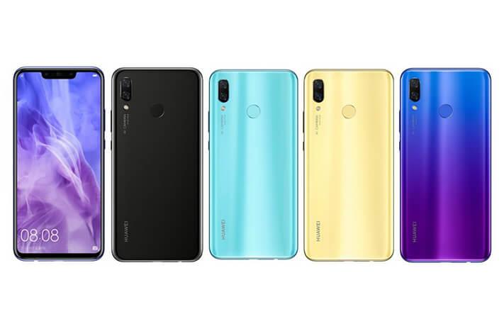 Huawei Nova 3がリリース!Kirin970に6GBメモリーを搭載でミッドレンジを越えてきた!!
