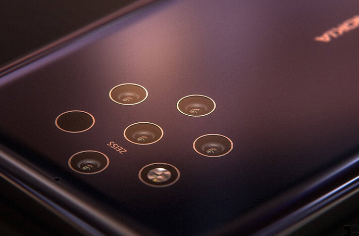 Nokia 9は『3』レンズを遥かにこえた『5』レンズ搭載スマホ!発売されたらスマホカメラ世界一確定か!