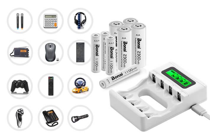 BONAI ニッケル水素充電池充電器 実機レビュー!見た目、実用性の高さに超満足!なのに2000円!