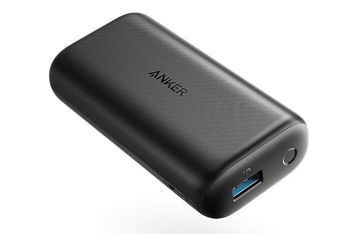 Anker PowerCore 10000 Reduxは『小さい』『軽い』『急速充電』『低速充電!?』
