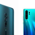 『Huawei P30 Pro』『OPPO Reno 10x Zoom』のカメラ画質を徹底比較。どっちが欲しいかはっきり分かる!