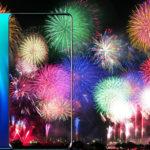 足立区花火大会目前!P30 Proは花火の写真を世界一美しく撮れるスマホ