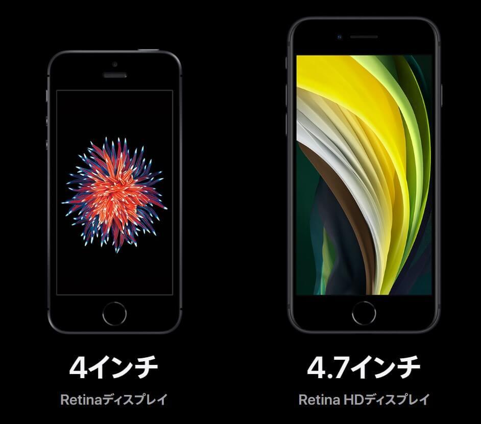 iPhone SE 世代交代