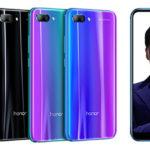 虹色に輝くフルビューディスプレイデザイン!超コスパなHonor 10がリリース!スペックレビュー