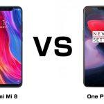 Xiaomi Mi 8 とOne Plus 6 最強のフラッグシップ、買うならどっち!?