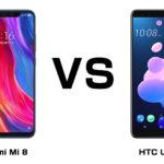 Xiaomi Mi 8 と HTC U12+ 最強のフラッグシップ、買うならどっち!?