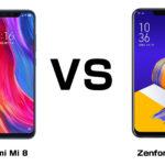 Xiaomi Mi 8 と ASUS Zenfone 5Z 最強のフラッグシップ、買うならどっち!?