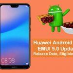 P20がHuawei端末で一番早くEMUI 9(Android Pie)にアップデート予定!