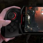 DOOGEES70はFPSに対応するゲーム専用コントローラーがついた、耐衝撃防水防塵ゲームフォン!