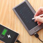 サンコー『メモバッQiリー』は電子メモ搭載超高性能モバイルバッテリー!まさかの5,980円!