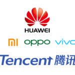 Huawei『ようこそ』Xiaomi、OPPO、VIVO、Tensent『よろしくお願いします。』