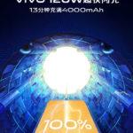 VIVO『120%・・・』Xiaomi『!!!』充電速度が怖いレベルに到達