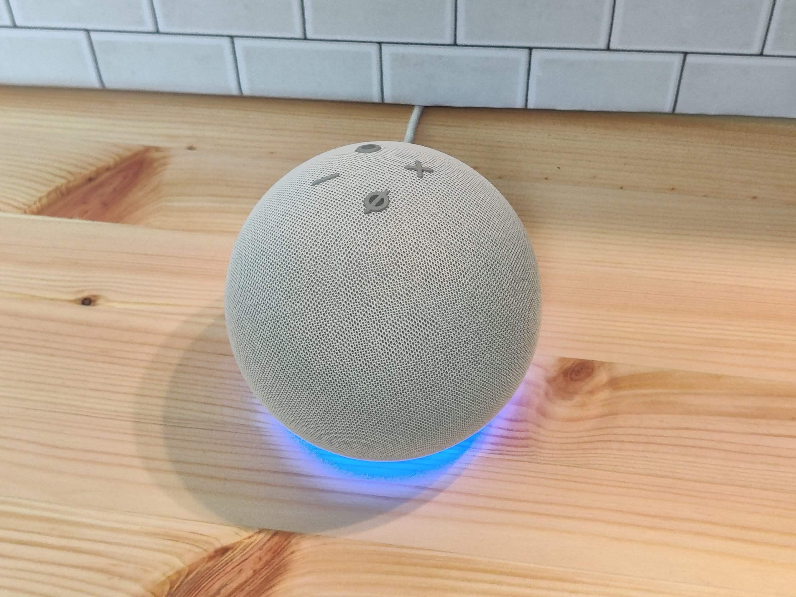 Echo Dot(第4世代)の上面