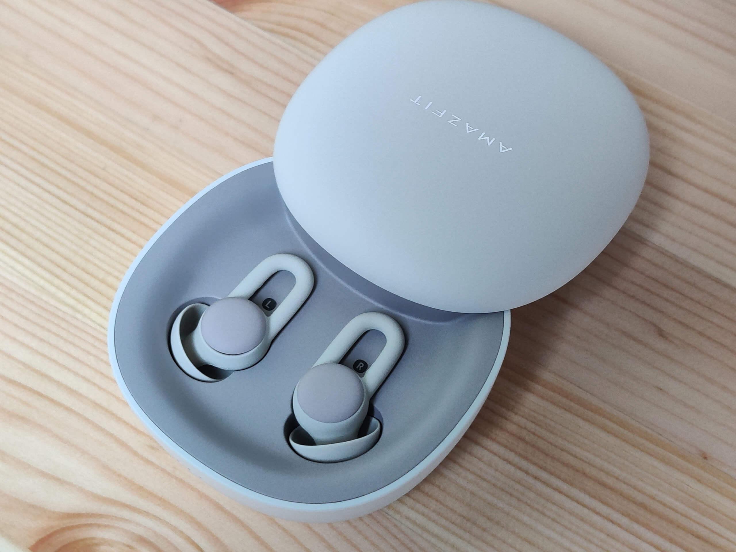 安眠効果のあるBluetoothイヤフォンAmazfit ZenBuds