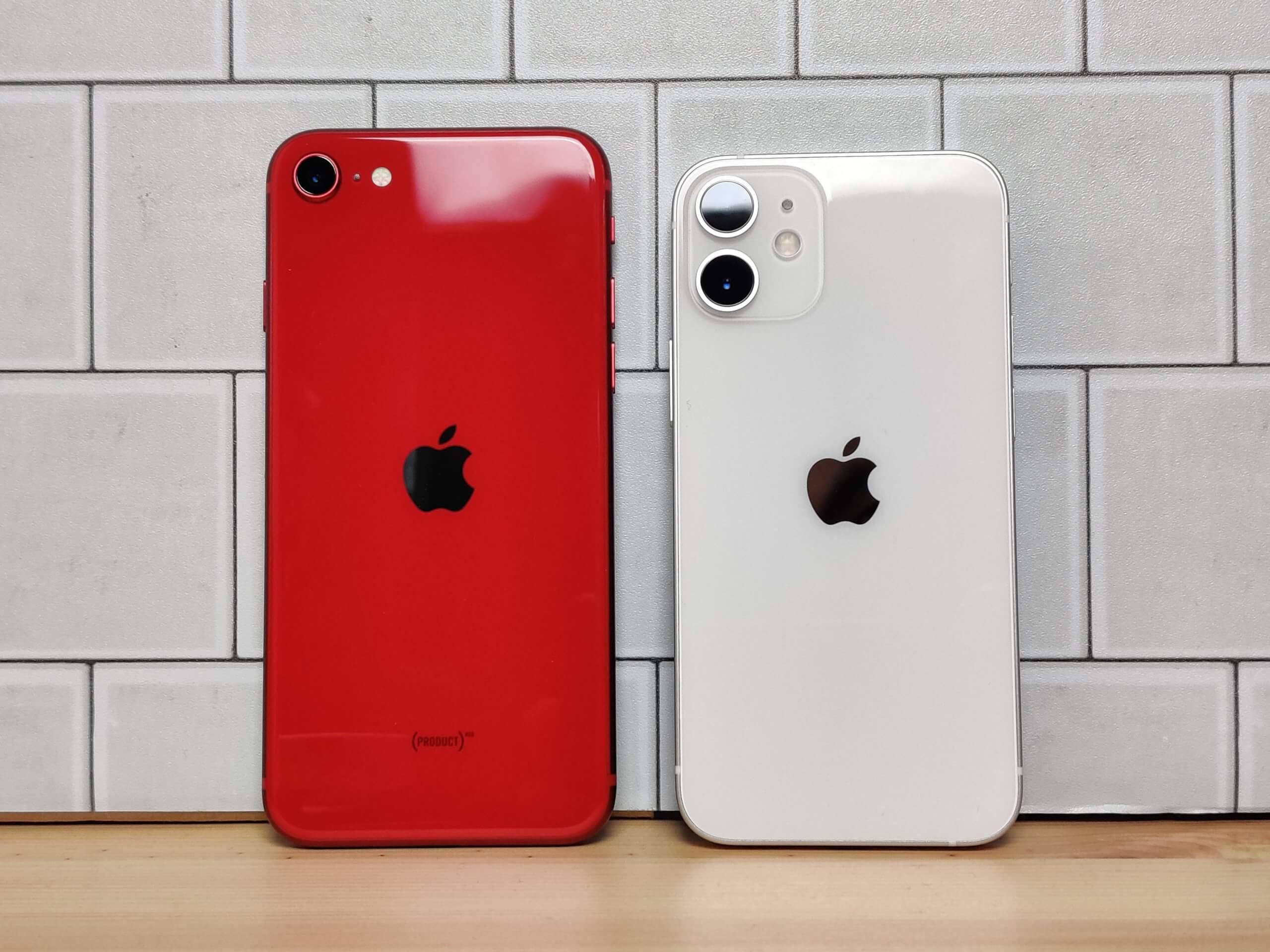 iPhone SE 2ndとiPhone 12 miniのカメラ画質を比較も大差は無し!Apple品質の高さを知る結果に