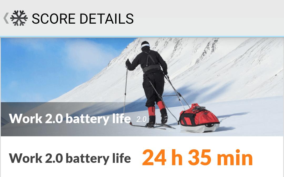 AQUOS sense4の電池もちは24時間以上