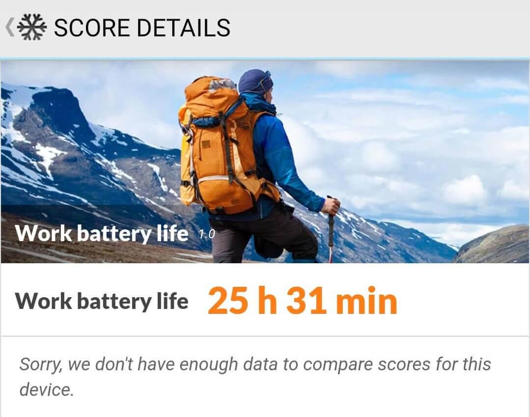 Xiaomi Redmi Note 9Sバッテリー持続時間