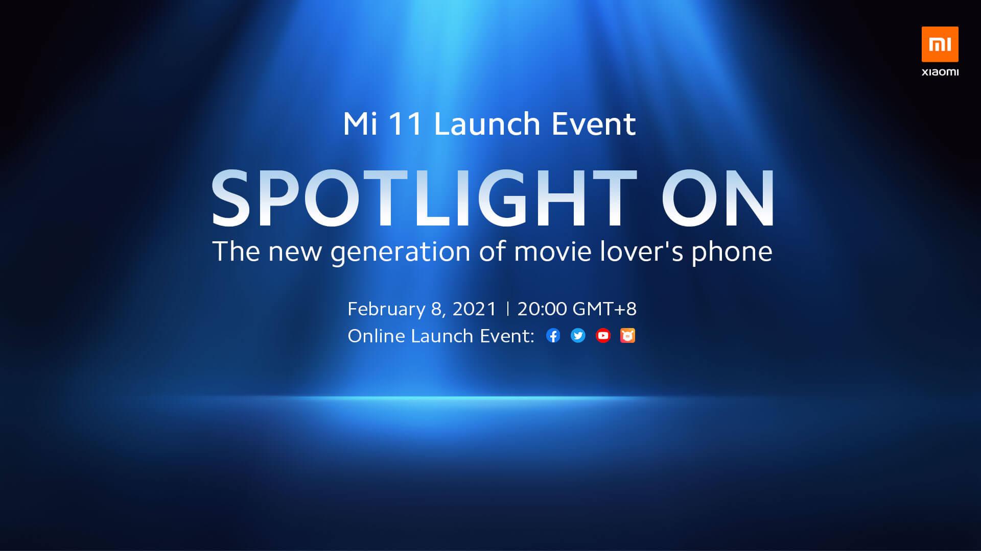 Xiaomi Mi 11 Global model