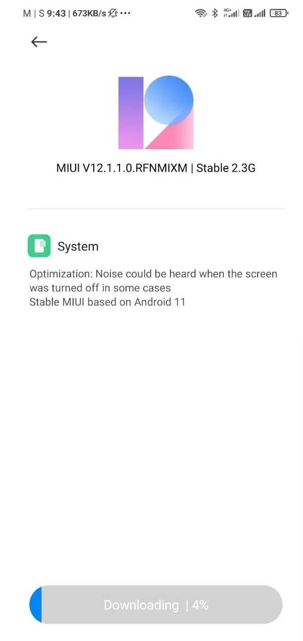mi note 10 lite Android 11