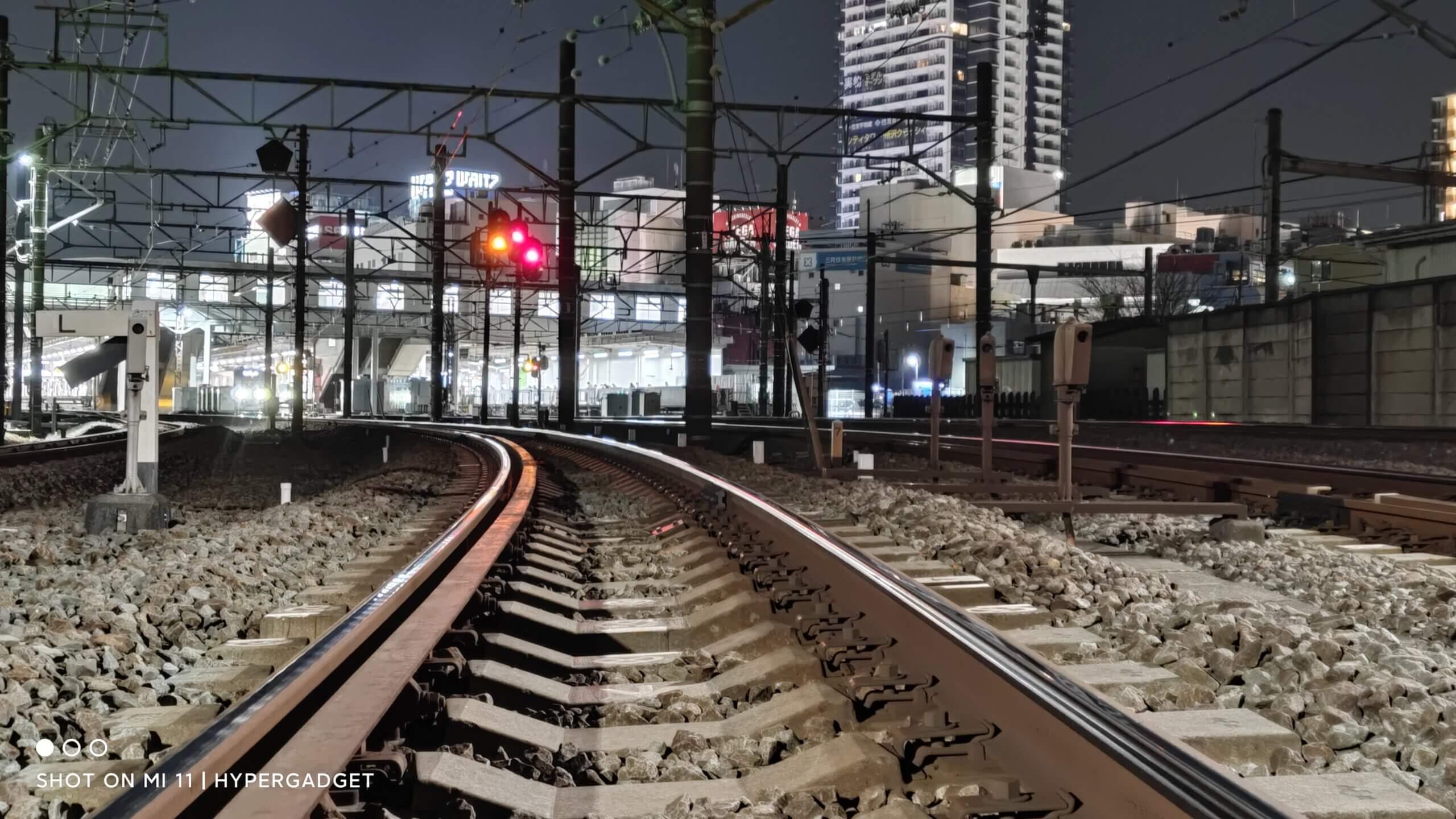 Xiaomi Mi 11で撮影した鉄道の写真