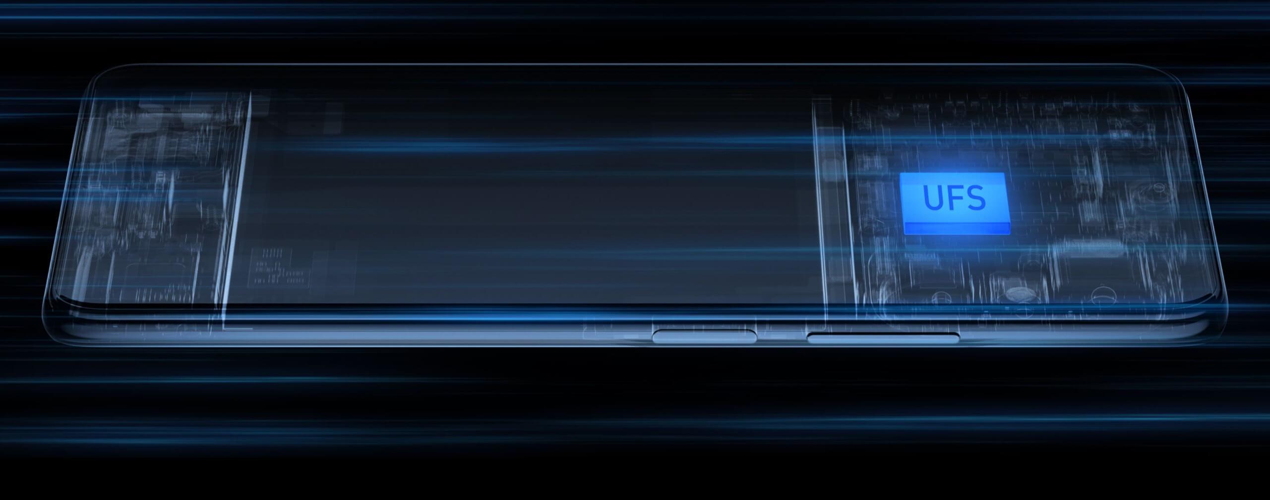 Redmi K40のストレージはUFS3.1