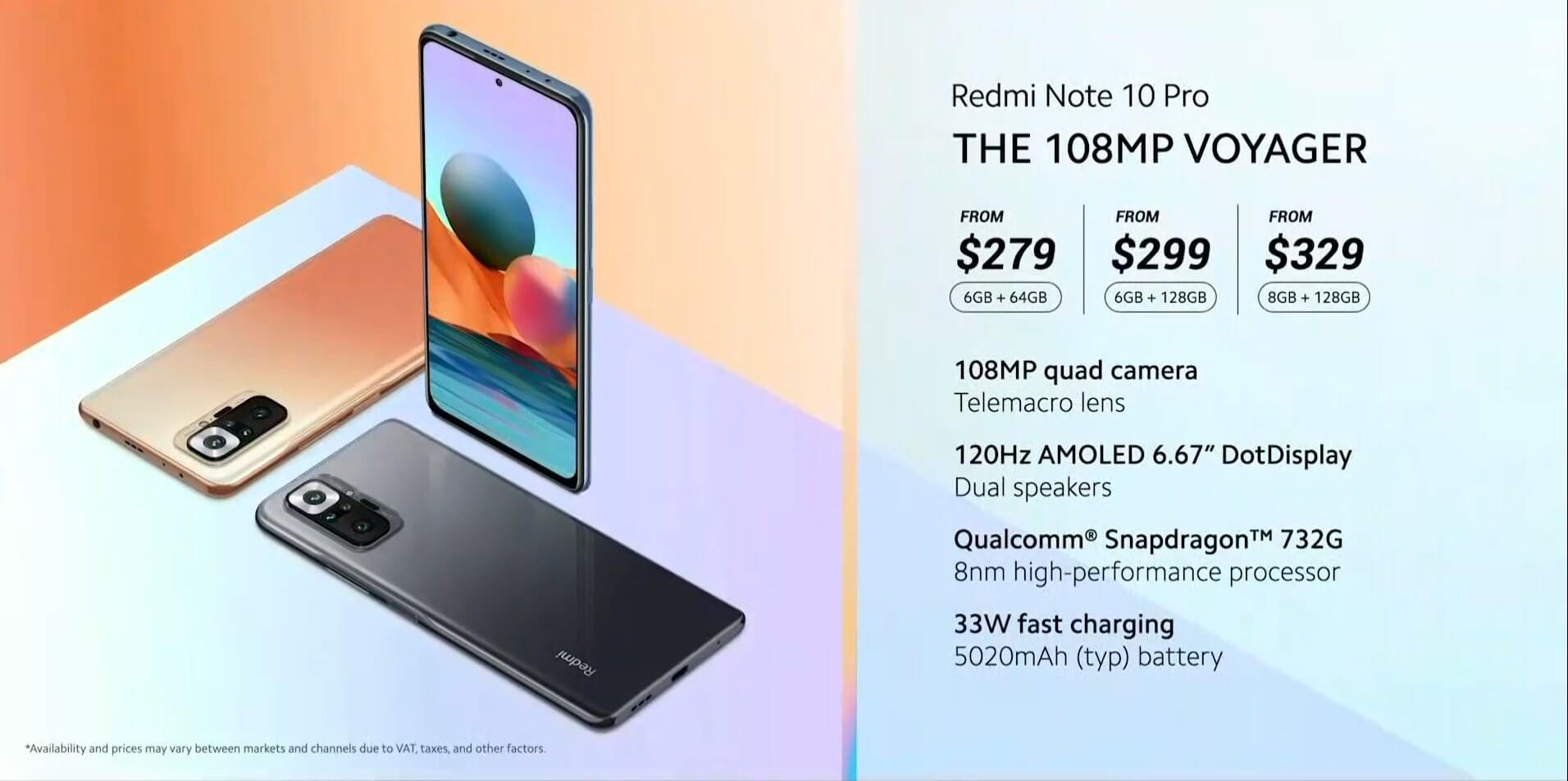 Redmi Note 10 Proは3万円~の激安価格