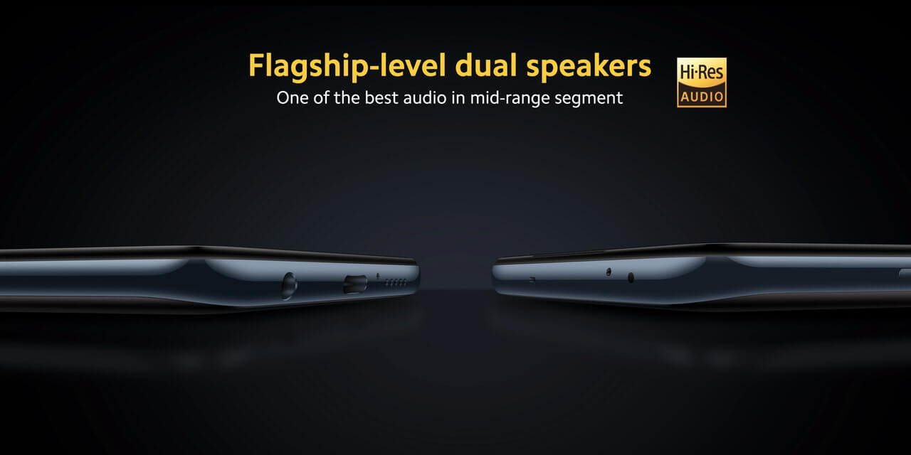 Xiaomi POCO X3 Proはデュアルステレオスピーカー採用。ハイレゾ音源にも対応