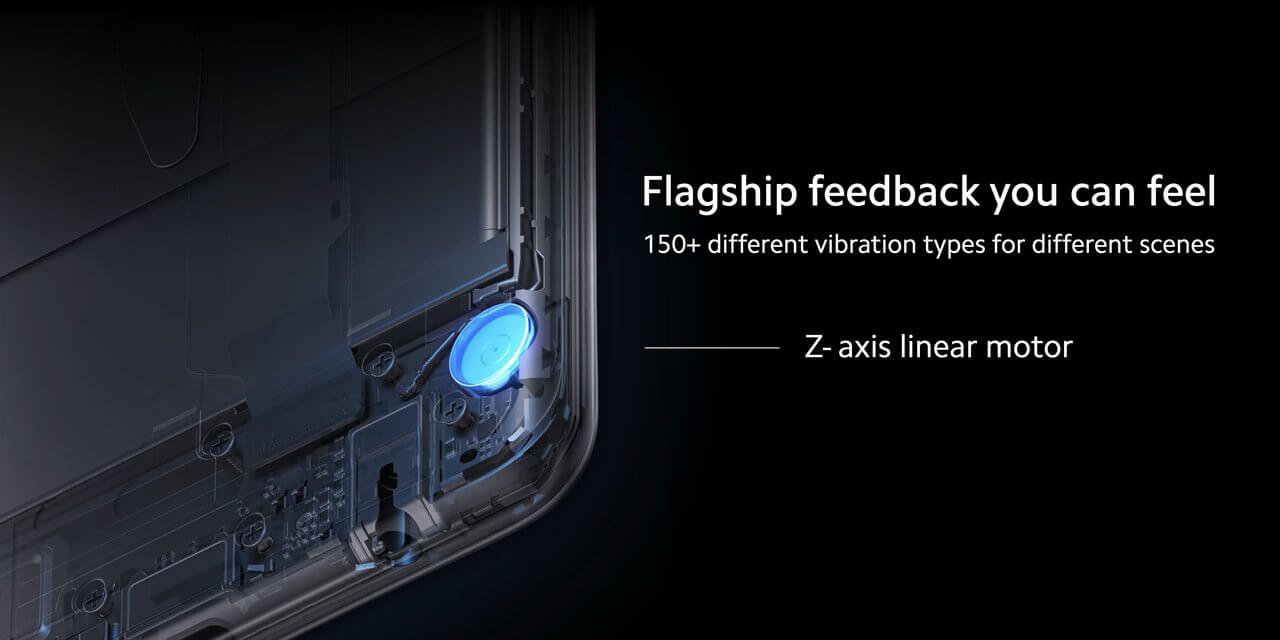 Xiaomi POCO X3 Proは本格的なバイブレーションモーター搭載