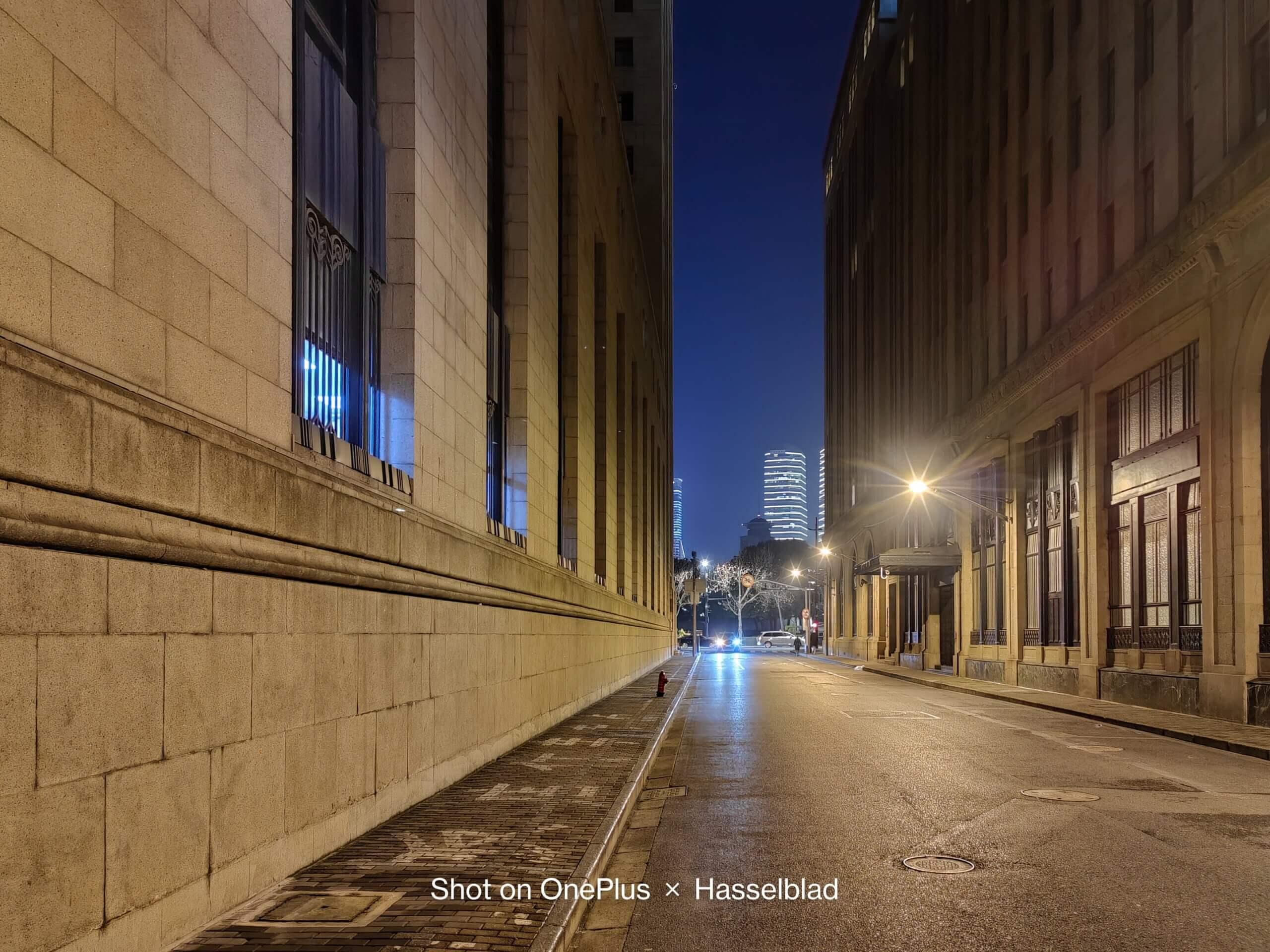 OnePlus 9シリーズで撮影した夜景