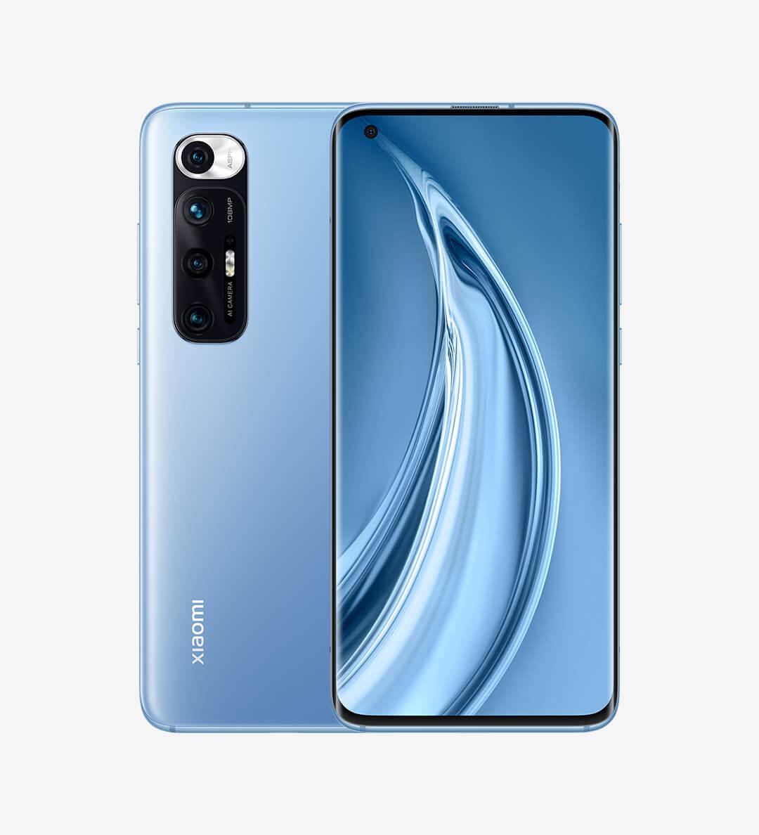 Xiaomi Mi 10Sの画像ブルー