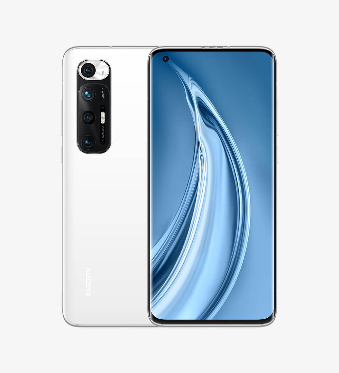 Xiaomi Mi 10Sの画像ホワイト