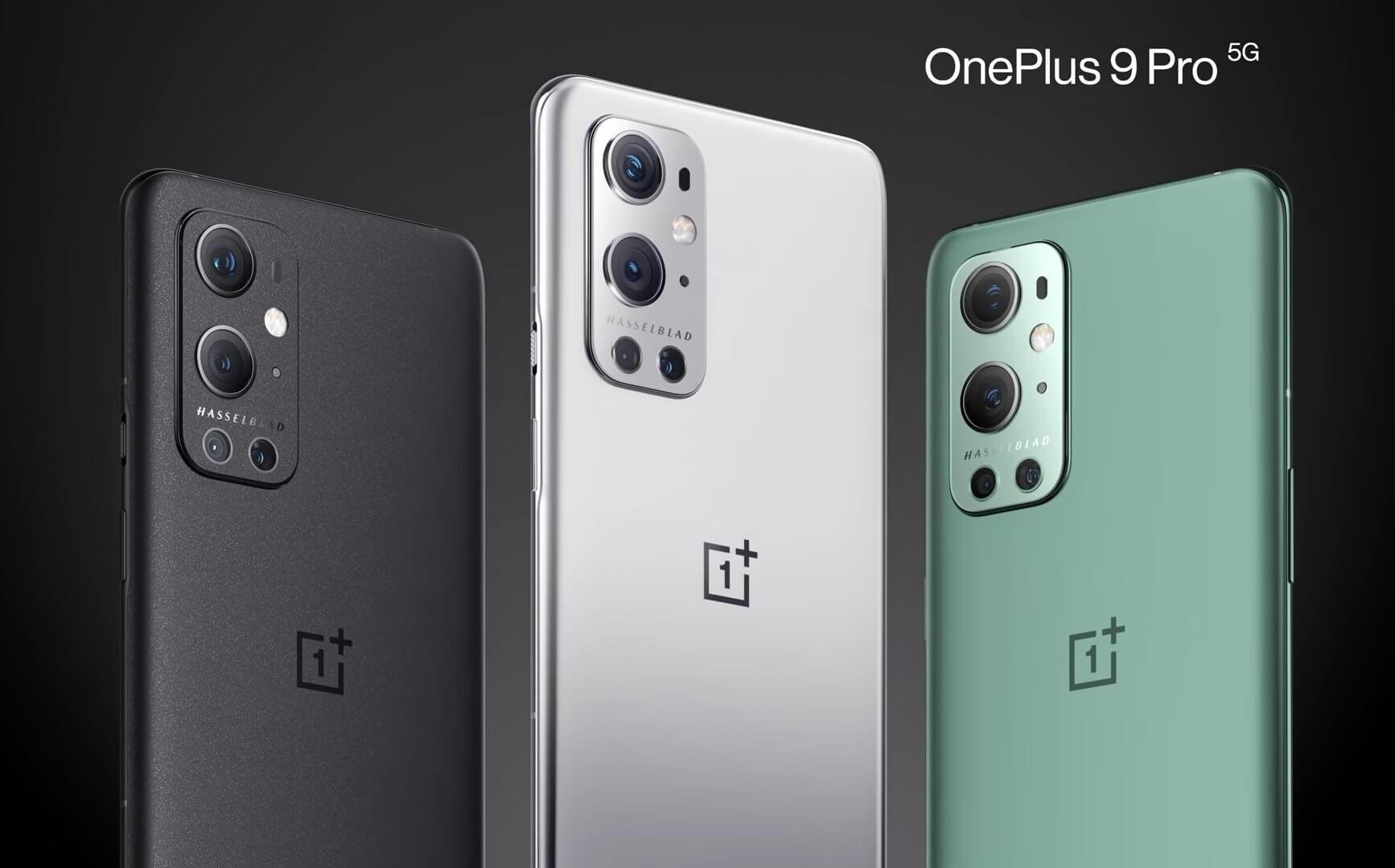 OnePlus 9 Proは3色のカラーバリエーション