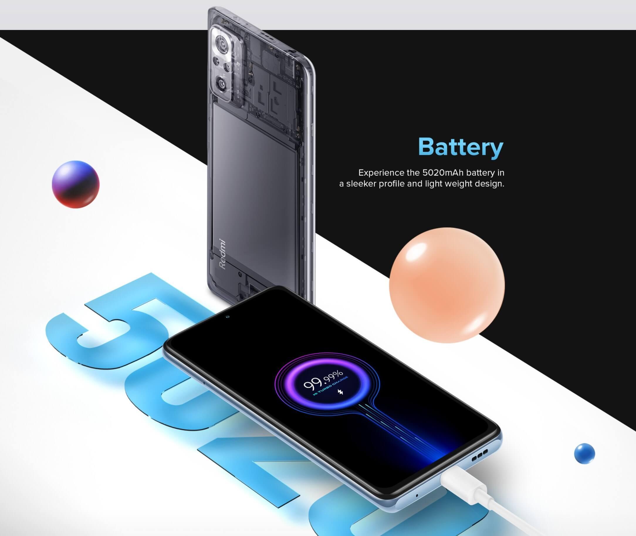Redmi Note 10 Pro Maxは33W急速充電に対応