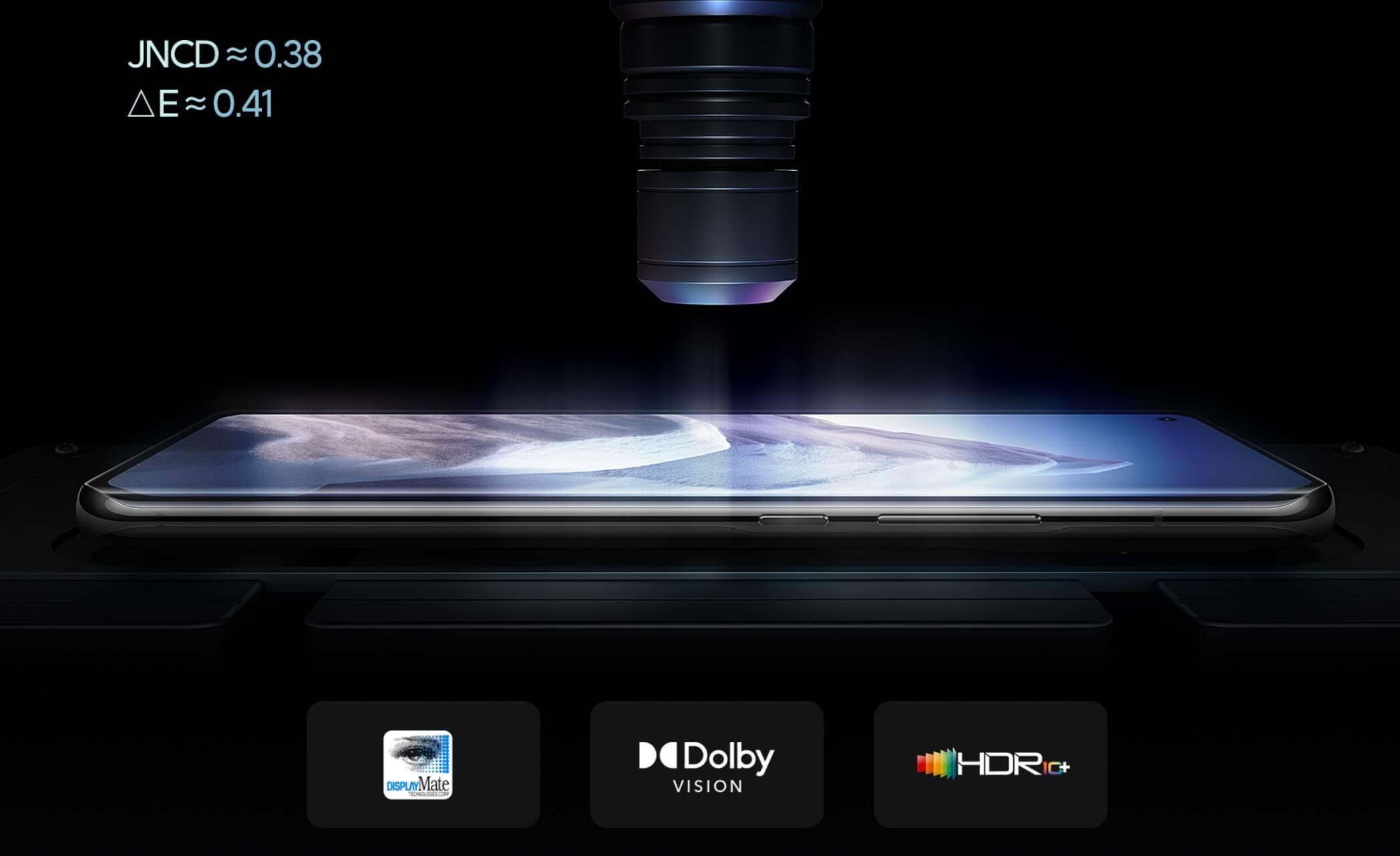 Xiaomi Mi 11 Ultraのディスプレイ