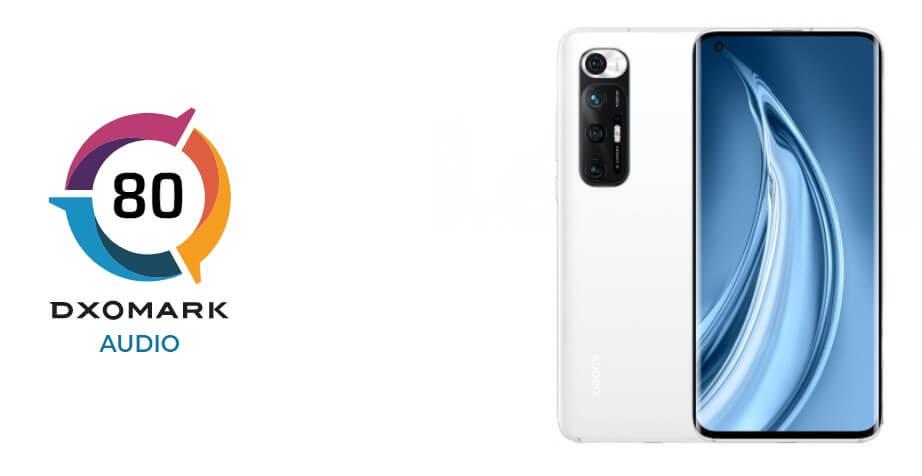 Xiaomi Mi 10SはDxOMarkのオーディオスコア世界一