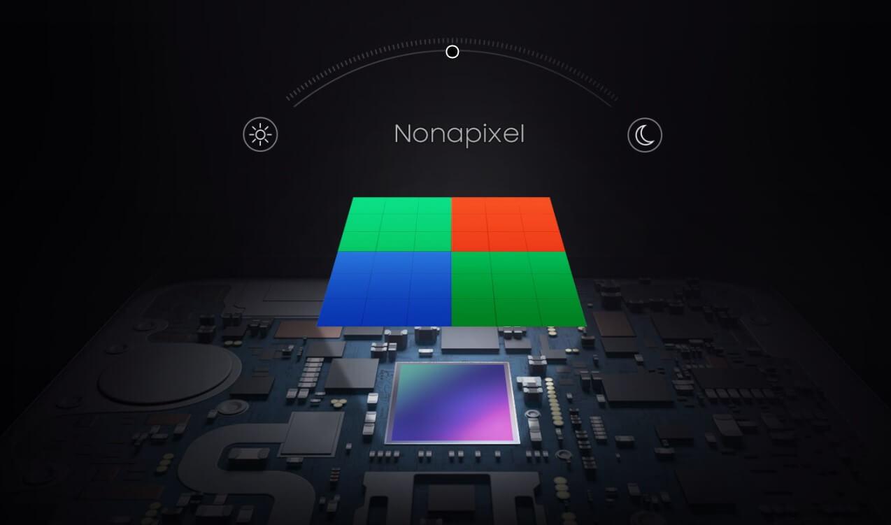 ピクセルビニング機能は複数のピクセルを1つに統合して認識。光の取得量を引き上げてくれる