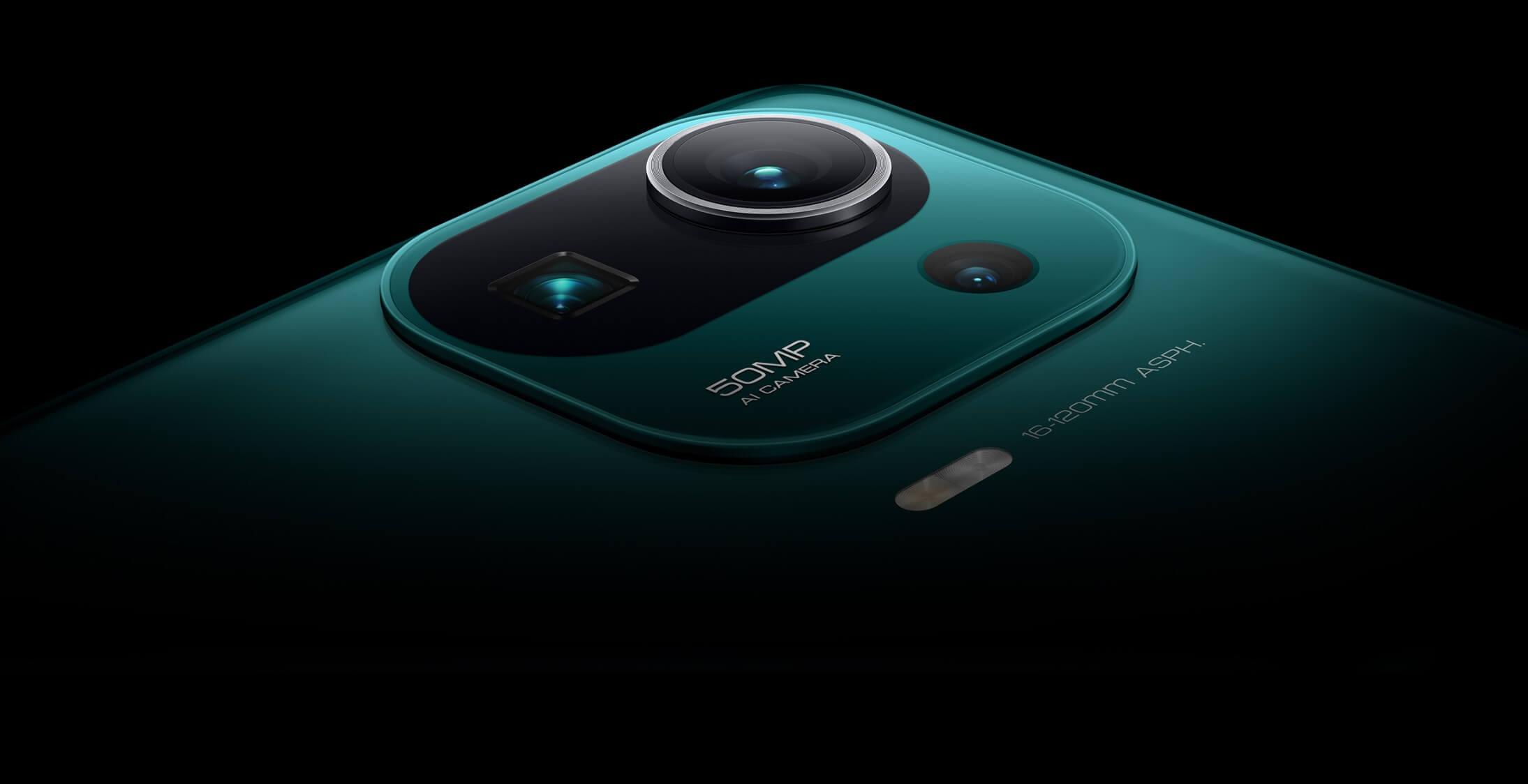 Xiaomi Mi 11 Proのカメラ画像