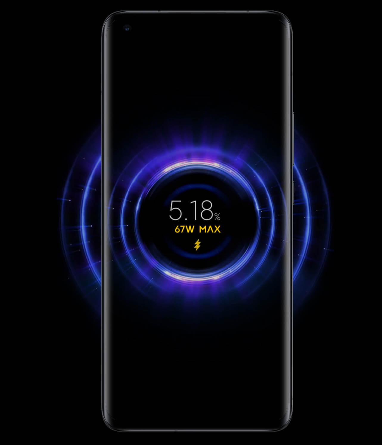 Xiaomi Mi 11 Ultraは最大67Wのワイヤレス充電に対応