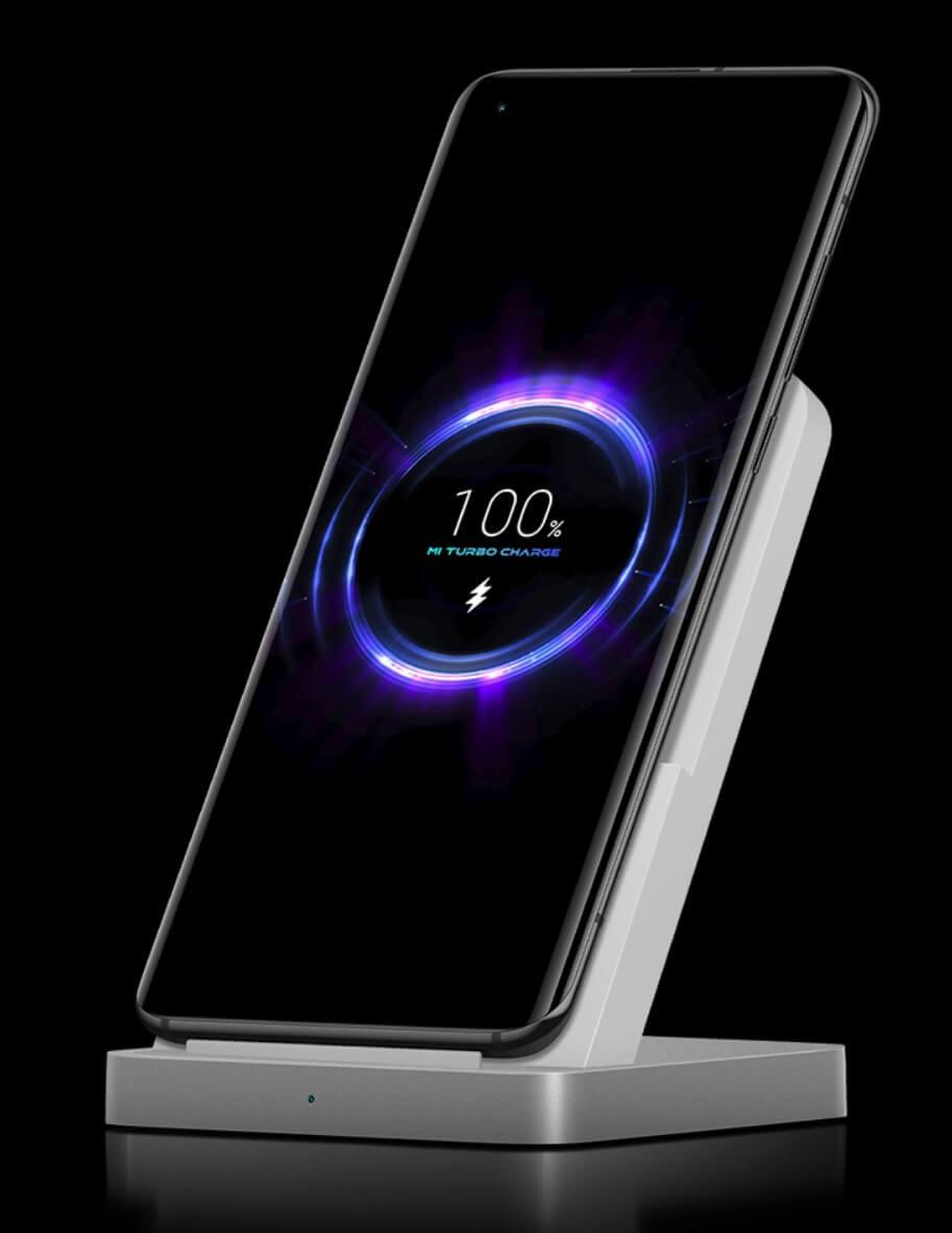 Xiaomi Mi 10Sは30Wの高速無線充電対応