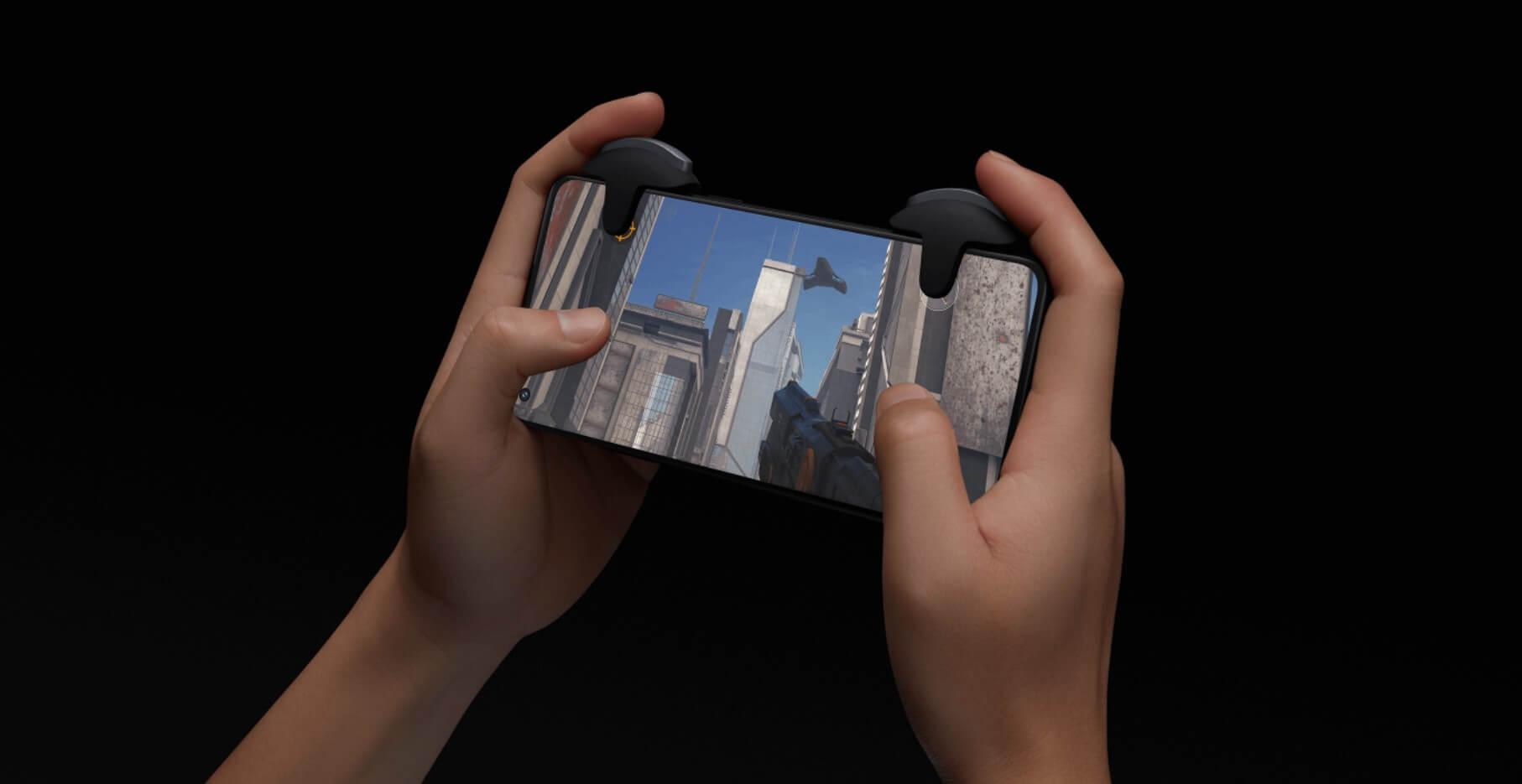 OnePlusのゲーミングトリガーはOnePlus 9Rと相性抜群