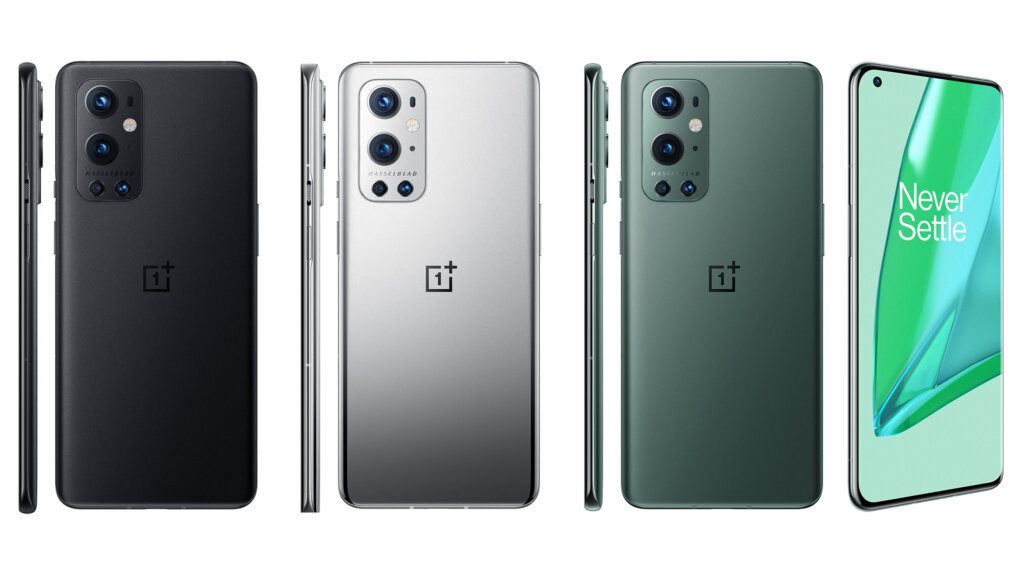 OnePlus 9 Pro ブラック、シルバー、グリーン