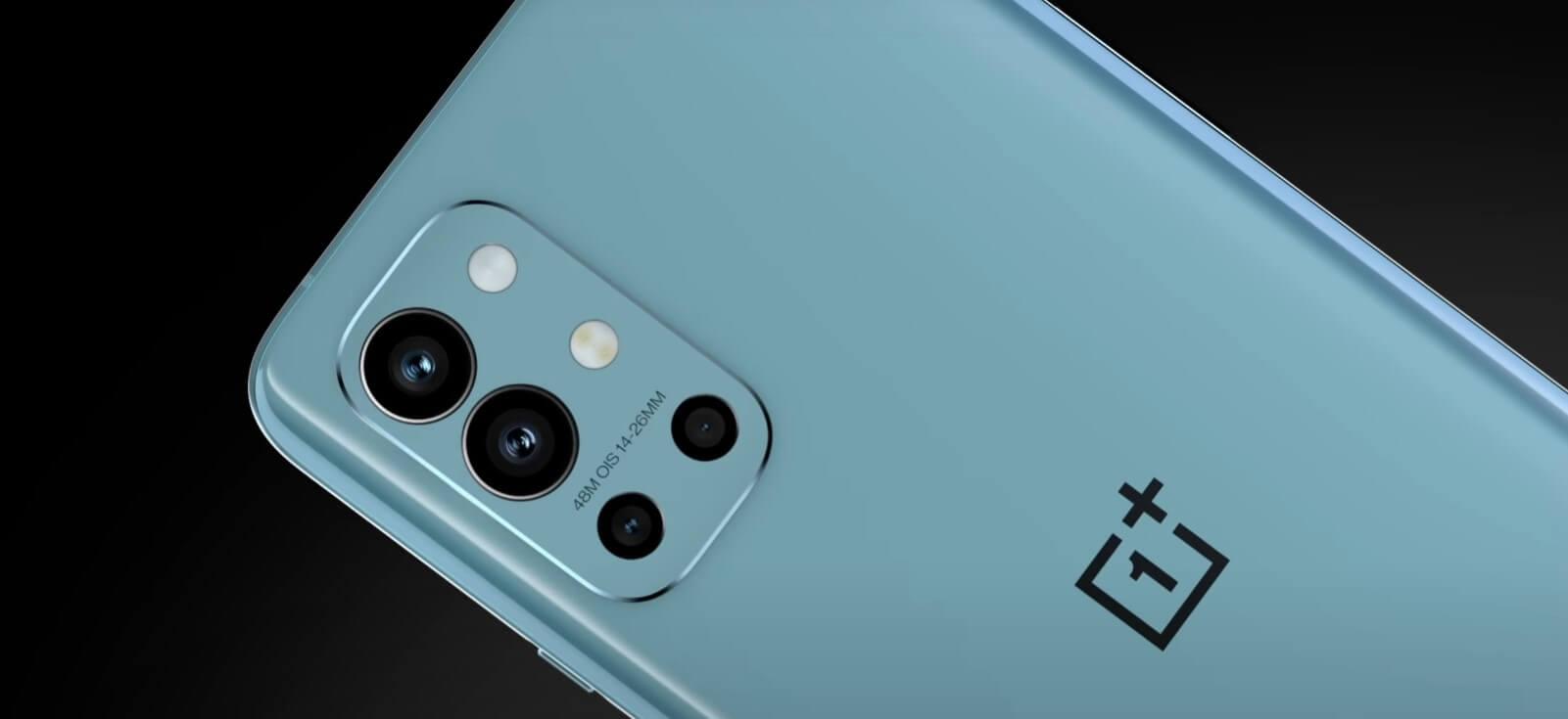 OnePlus 9RにはHasselbladのロゴマークなし