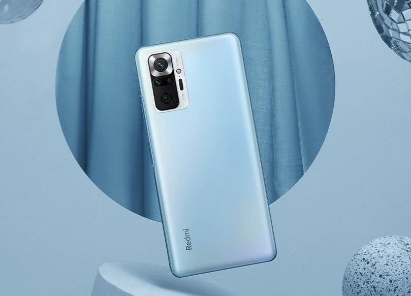 Redmi Note 10 Pro Max スカイブルー