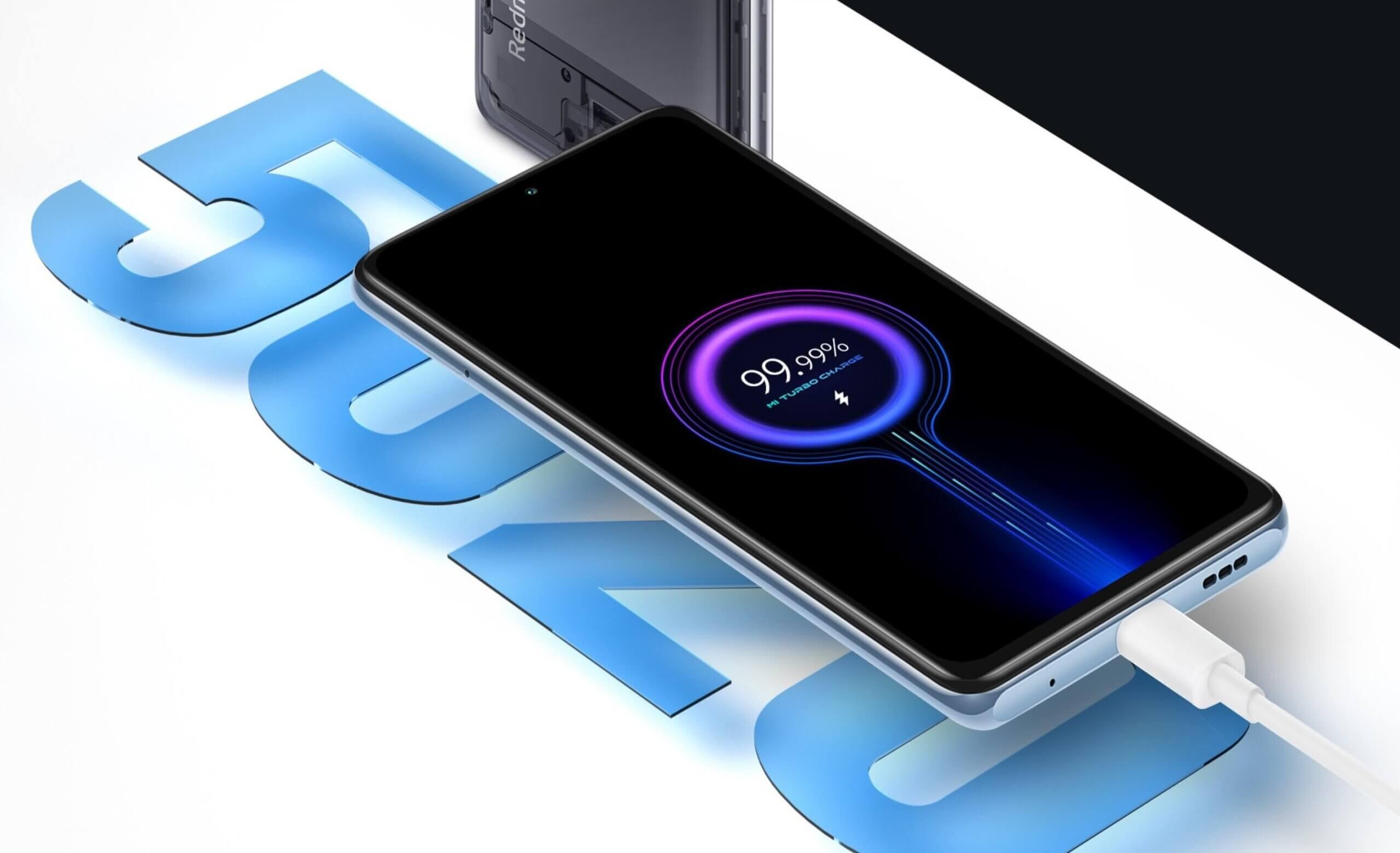Xiaomi Redmi Note 10 Proは5020mAhの大容量電池搭載。最大充電速度は33W