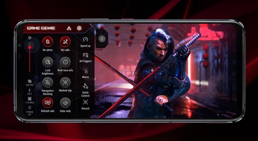 ROG Phone 5シリーズは専用のゲームモードを搭載