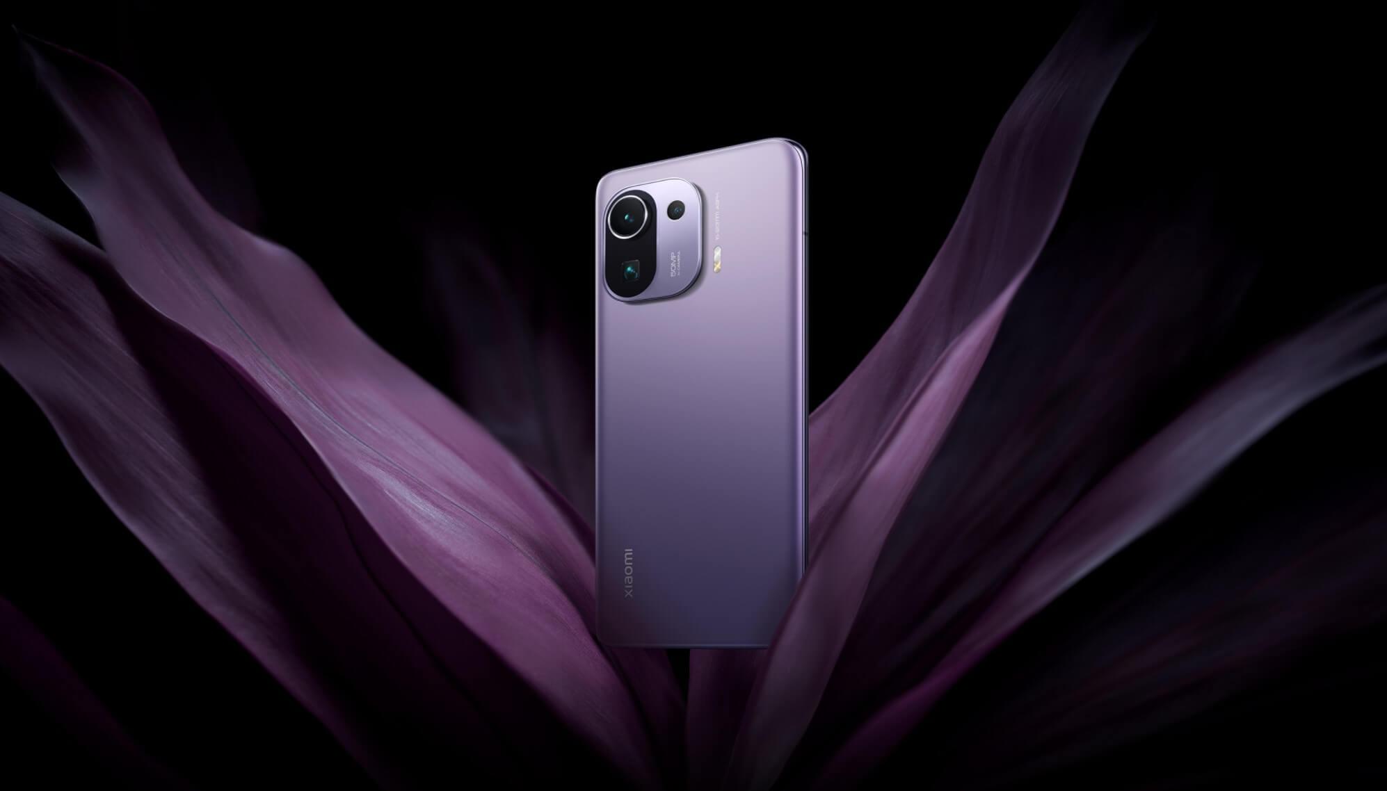 Xiaomi Mi 11 Pro パープル
