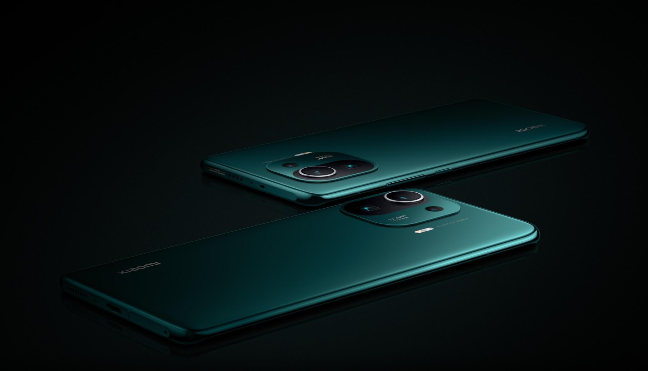 Xiaomi Mi 11 Pro 緑2